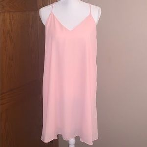 New with tags light pink dress